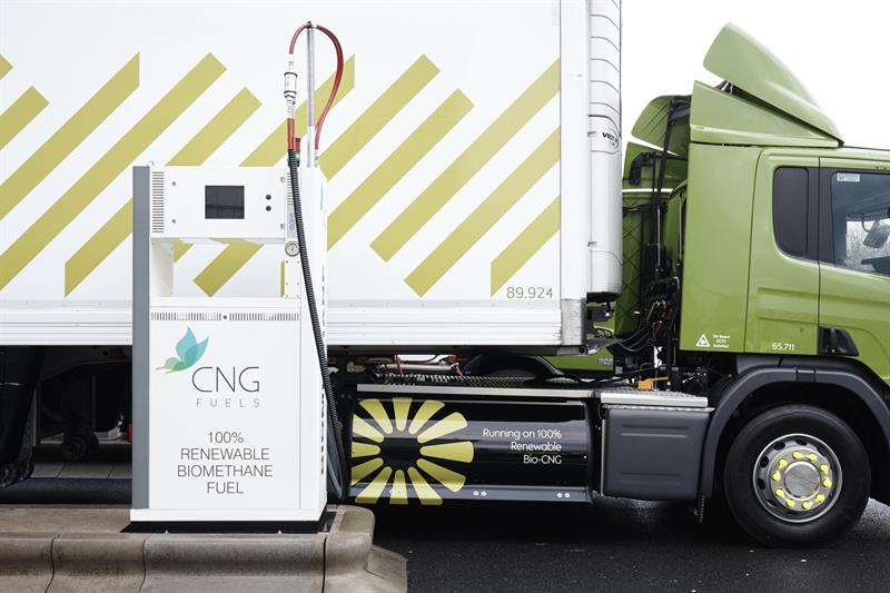 CNG to offer carbon neutral fuel for HGVs